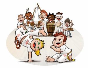capoeira-bambini