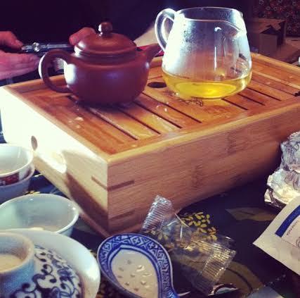 Domenica 8 gennaio 2017. Degustazione guidata di tè orientali
