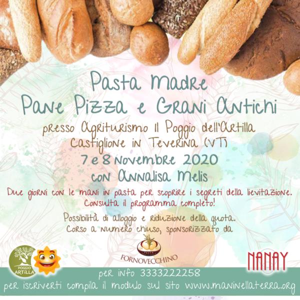 Pasta Madre, Pane , Pizza e Grani Antichi